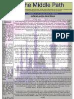 """Al-Jalal Masjid """"The Middle Path"""" December 2010 Newsletter"""