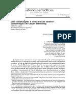 Contribuições metodológica de Claude Zilberberg