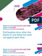 Earthquake pptx