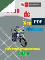 plan de seguridad ciudadana  distrito de anta