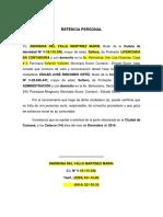 REFENCIA PERSONAL (EDGAR)