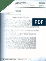 CSC Resolution No. 062113