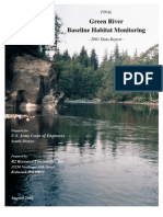 Green River Baseline Habitat Report