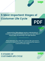5 Most Important Stages of Customer Life Cycle