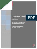 PROGRAMA TERAPÈUTICO 2015 imprimir