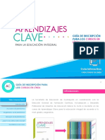 Aprendizajez Clave 2018