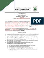 Surat Perjanjian pkm ciulu