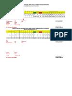 Data PIS PK Lonset  Sebelun dan sesudah Di Bina Tahun 2018