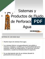 Fluidos de Perforación - Sistemas de Base Agua