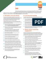 RSS core checklist PDF version