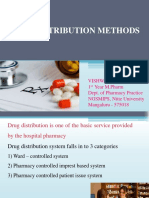 Drug Distribution Methods