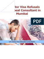 UK Visitor Visa Refusals and Appeal Consultant in Mumbai