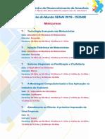 Mundo SENAI 2019 - Programação Digital
