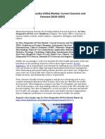 In-Vitro Diagnostics (IVDs) Market Current Scenario and Forecast (2019-2025)