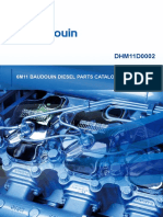 6M11 BAUDOUIN DIESEL ENGINE epcdh6m11d0002-en PARTS CATALOGUE