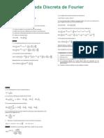 Transform Ada Discreta de Fourier Ejemplos