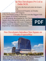 New Commercial Project on Dwarka Expressway – Neo Developers