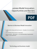 Business Model innovates