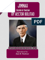 Jinnah - Creator of Pakistan by Hector Bolitho
