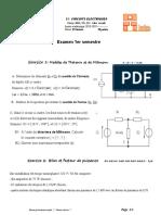 Exam MSE-TEL circuit électrique JAN2019