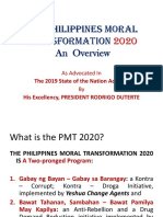 Philippines Moral Transformation Overview - with Video