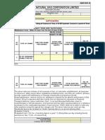 Annexure V Bidder Response Sheet