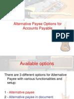 Alternative Payee