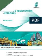 180321 PETORNAS_Licensing & Registration