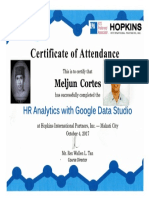 MELJUN CORTES 2017 Hopkins HR Analytics With Google Data Studio
