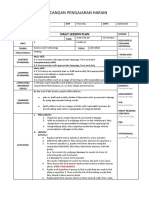 CEFR Lesson Plan  Form 4 WRITING