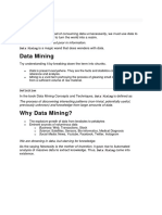 Data Mining Nostos