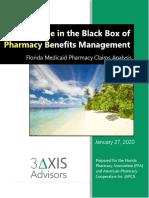 Florida Medicaid Pharmacy Claims Analysis