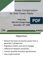 IEEE_PES_Chicago_ReactivePowerForSolarPlants