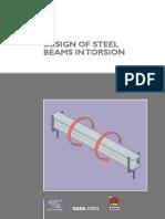 Design of steel beam in torsion.pdf