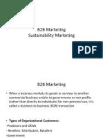 Session 10_B2B & Sustainability Marketing