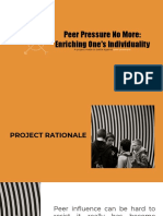 project proposal on peer pressure
