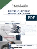Programme WORKSHOP réussir le métier de responsable Qualité-converti