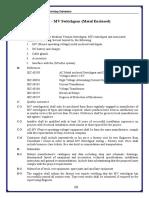 MV Switchgear Specification