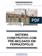 Sistema Construtivo Com Pré-Moldado Em Ferrazópolis