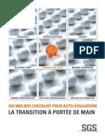 ISO 9001_2015 Checklist La transition