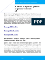 volumen-6-diseno-en-ingenieria-quimica-serie-ingenieria-quimica-coulson-richardson