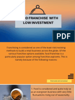 Keyword - Food Franchise With Low Investment