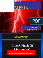 Magnesium Sulphate Regimens in Eclampsia - High Risk Calicut 21st Nov. 2010