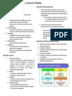 Clin Chem Lec notes 1