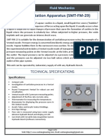 Cavitation Apparatus (SMT-FM-29) by ESOLS Engineering
