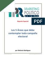 Los 5 elementos del marketing político