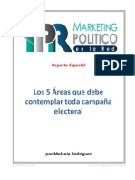 Los 5 elementos del marketing político
