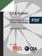 CEDIA_Standards-2009-CEB22-AudioDesign