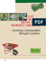Growing Communities through Gardens - Eat Smart, Move More North Carolina