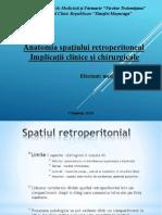 Anatomia spatiului retroperitoneal
